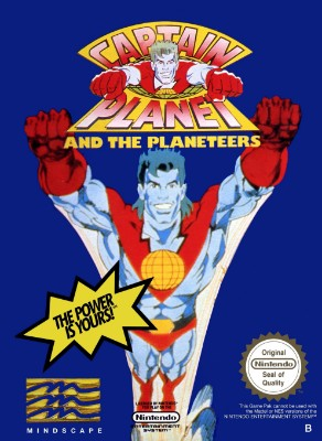 Captain Planet and the Planeteers Cover Art