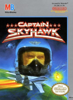 Captain Skyhawk Cover Art