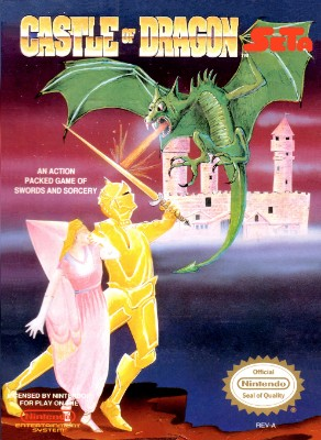 Castle of Dragon Cover Art