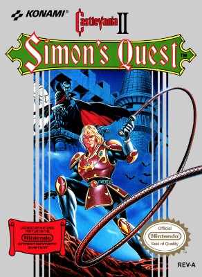Castlevania II: Simon's Quest Cover Art