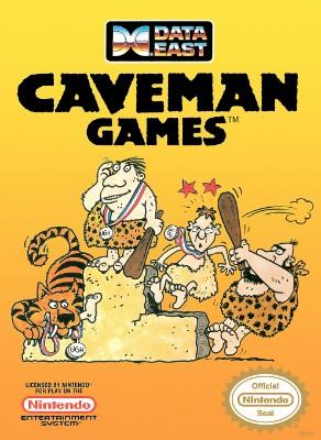 Caveman Games Cover Art
