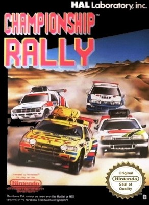 Championship Rally [PAL] Cover Art