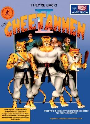 Cheetahmen II Cover Art