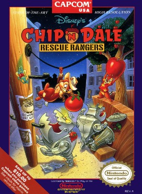 Chip 'n Dale Rescue Rangers, Disney's Cover Art