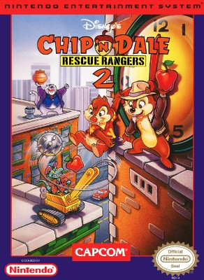 Chip 'n Dale Rescue Rangers 2, Disney's Cover Art
