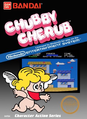 Chubby Cherub Cover Art