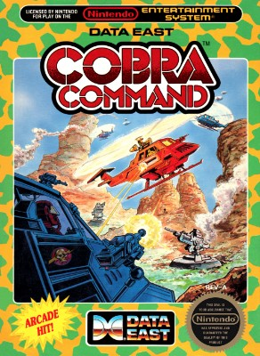 Cobra Command Cover Art