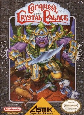 Conquest of the Crystal Palace Cover Art