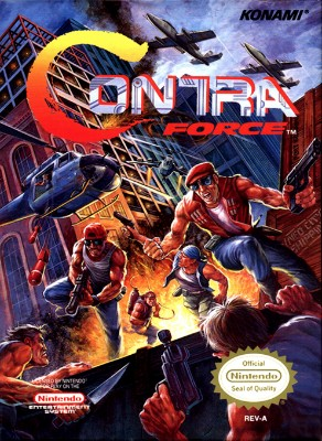 Contra Force Cover Art