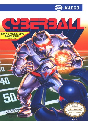 Cyberball Cover Art