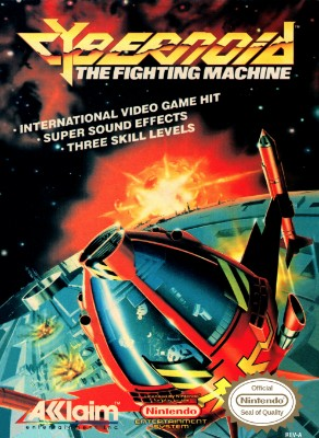 Cybernoid: The Fighting Machine Cover Art