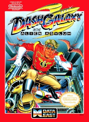 Dash Galaxy in the Alien Asylum Cover Art