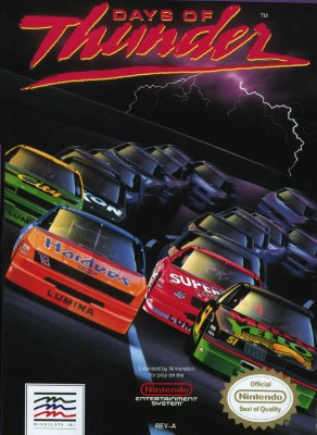 Days of Thunder Cover Art