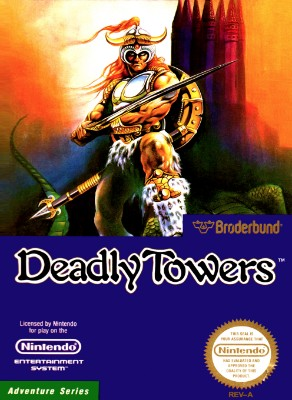 Deadly Towers Cover Art