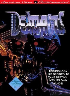 Deathbots Cover Art