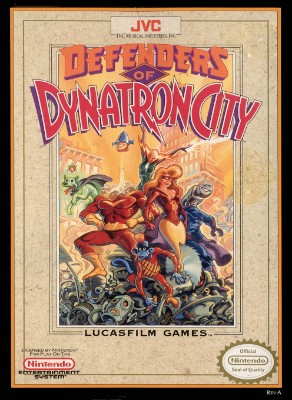 Defenders of Dynatron City Cover Art