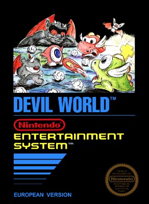Devil World [PAL] Cover Art