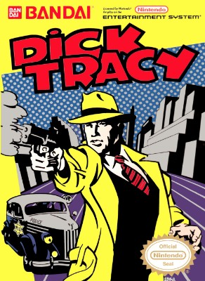 Dick Tracy Cover Art