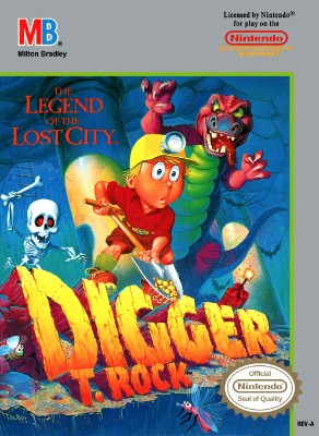 Digger T. Rock: The Legend of the Lost City Cover Art