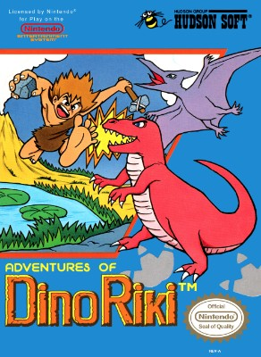 Adventures of Dino Riki Cover Art