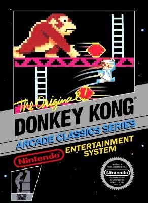 Donkey Kong Cover Art