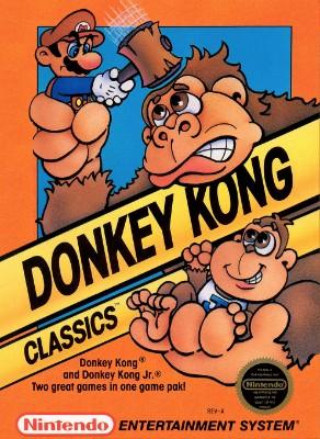 Donkey Kong Classics Cover Art