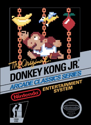 Donkey Kong Jr. [5 Screw] Cover Art