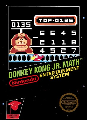 Donkey Kong Jr. Math Cover Art