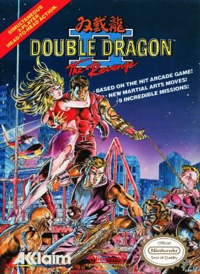 Double Dragon II: The Revenge Cover Art