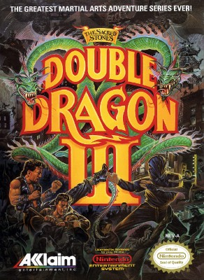 Double Dragon III: The Sacred Stones Cover Art