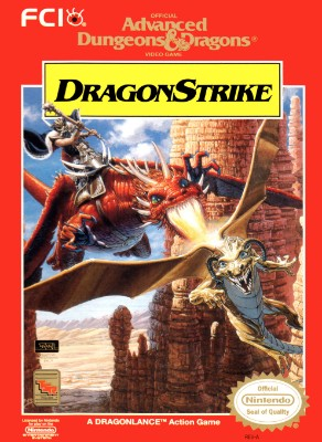 Advanced Dungeons & Dragons: Dragon Strike Cover Art
