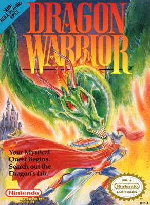 Dragon Warrior Cover Art