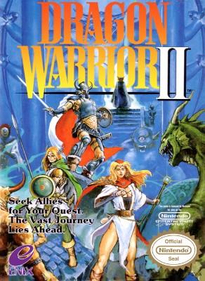 Dragon Warrior II Cover Art
