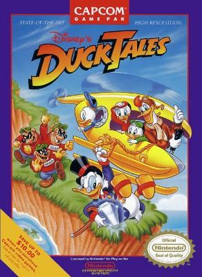 DuckTales, Disney's Cover Art