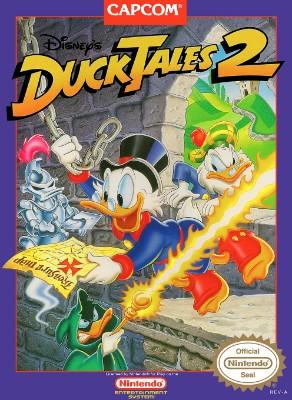 DuckTales 2, Disney's Cover Art