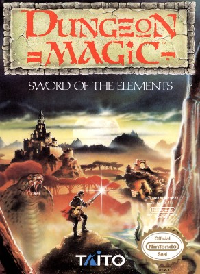 Dungeon Magic: Sword of the Elements Cover Art