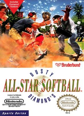 Dusty Diamond's All-Star Softball Cover Art
