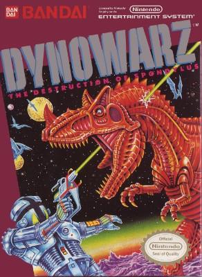 Dynowarz: Destruction of Spondylus Cover Art
