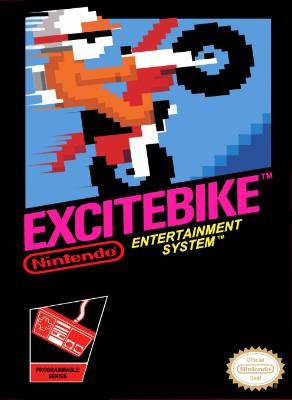 Excitebike Cover Art