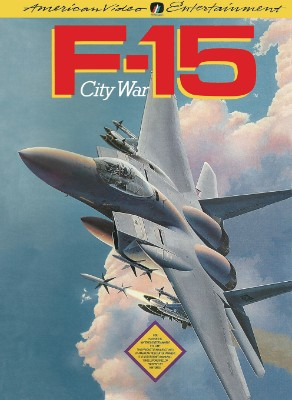 F-15 City War Cover Art