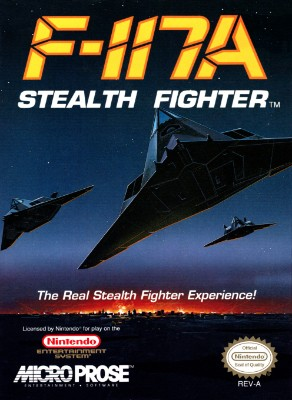 F-117A Stealth Fighter Cover Art
