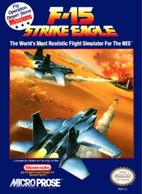 F-15 Strike Eagle Cover Art