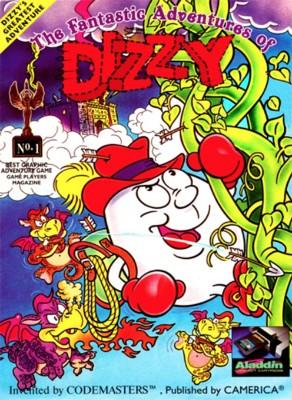 Fantastic Adventures of Dizzy Cover Art