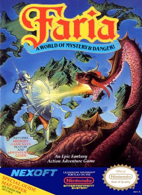 Faria: A World of Mystery & Danger! Cover Art