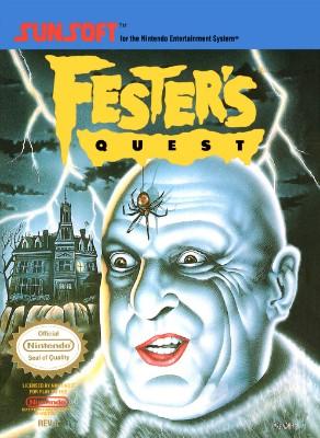Fester's Quest Cover Art
