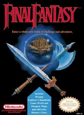 Final Fantasy Cover Art