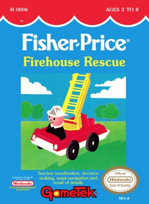 Fisher-Price: Firehouse Rescue Cover Art