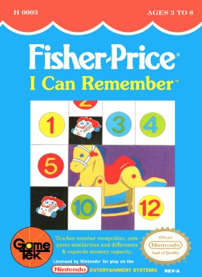Fisher-Price: I Can Remember Cover Art