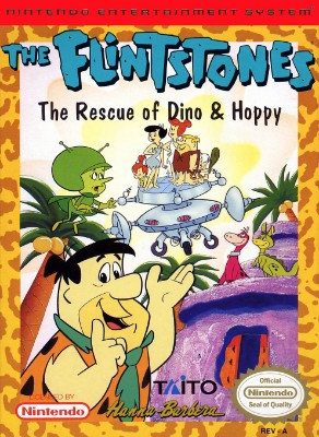Flintstones: Rescue of Dino & Hoppy Cover Art