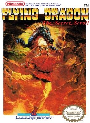 Flying Dragon: The Secret Scroll Cover Art